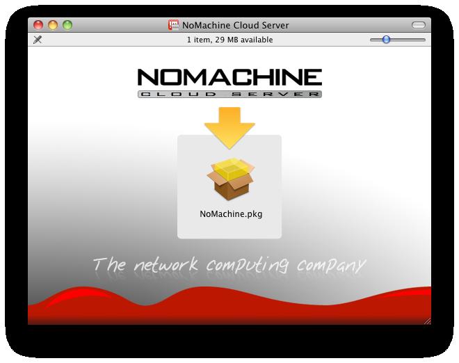 nomachine download mac