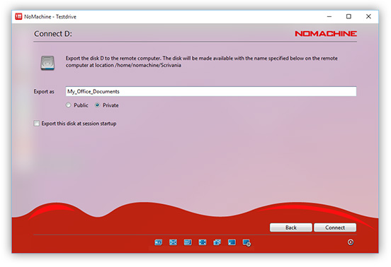 NoMachine - Guide to the Functionality in the Menu Panel on