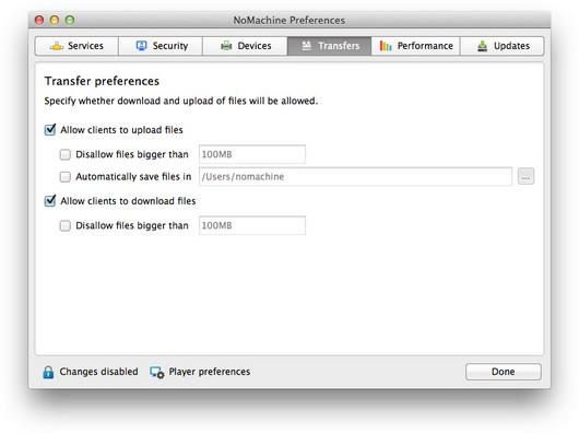 NoMachine - Guide to the NoMachine Server GUI (v 5)