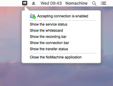 NoMachine - Guide to the NoMachine Server GUI